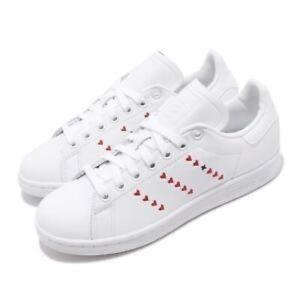 Adidas Stan Smith heart stripe sneakers